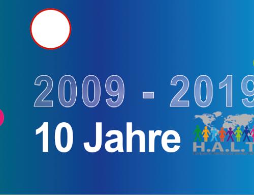 10 Jahre H.A.L.T. – Ausstellung in der Fabrikstraße