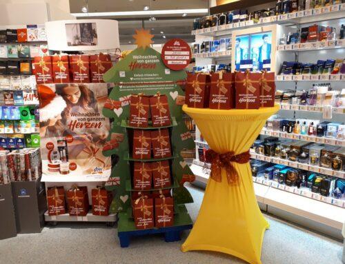 Eine gemeinsame Weihnachtsaktion der PuR, des dm-Drogeriemarktes und Ihnen