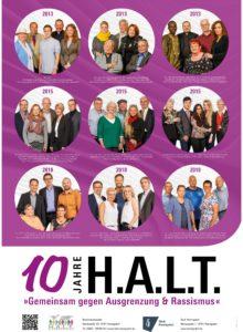 H.A.L.T. - Plakat 2019