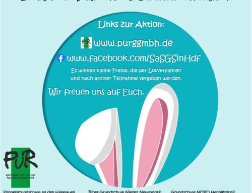 Gewinnspiel zur digitalen Osterferien-Aktion
